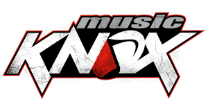 Music Knox white web logo